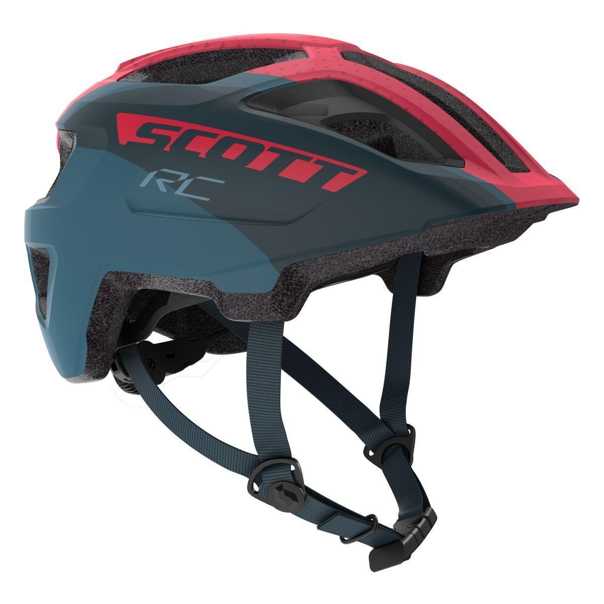 Scott spunto Jr Bicicletta Bambini Bambini Bambini Casco Tg. 50-56cm Blu rosa 2019   Ottima qualità  3b9078