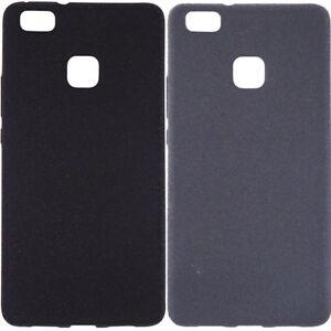 Custodia cover FLEXY pr Huawei P9 case TPU morbida flessibile opaca bordi lucidi