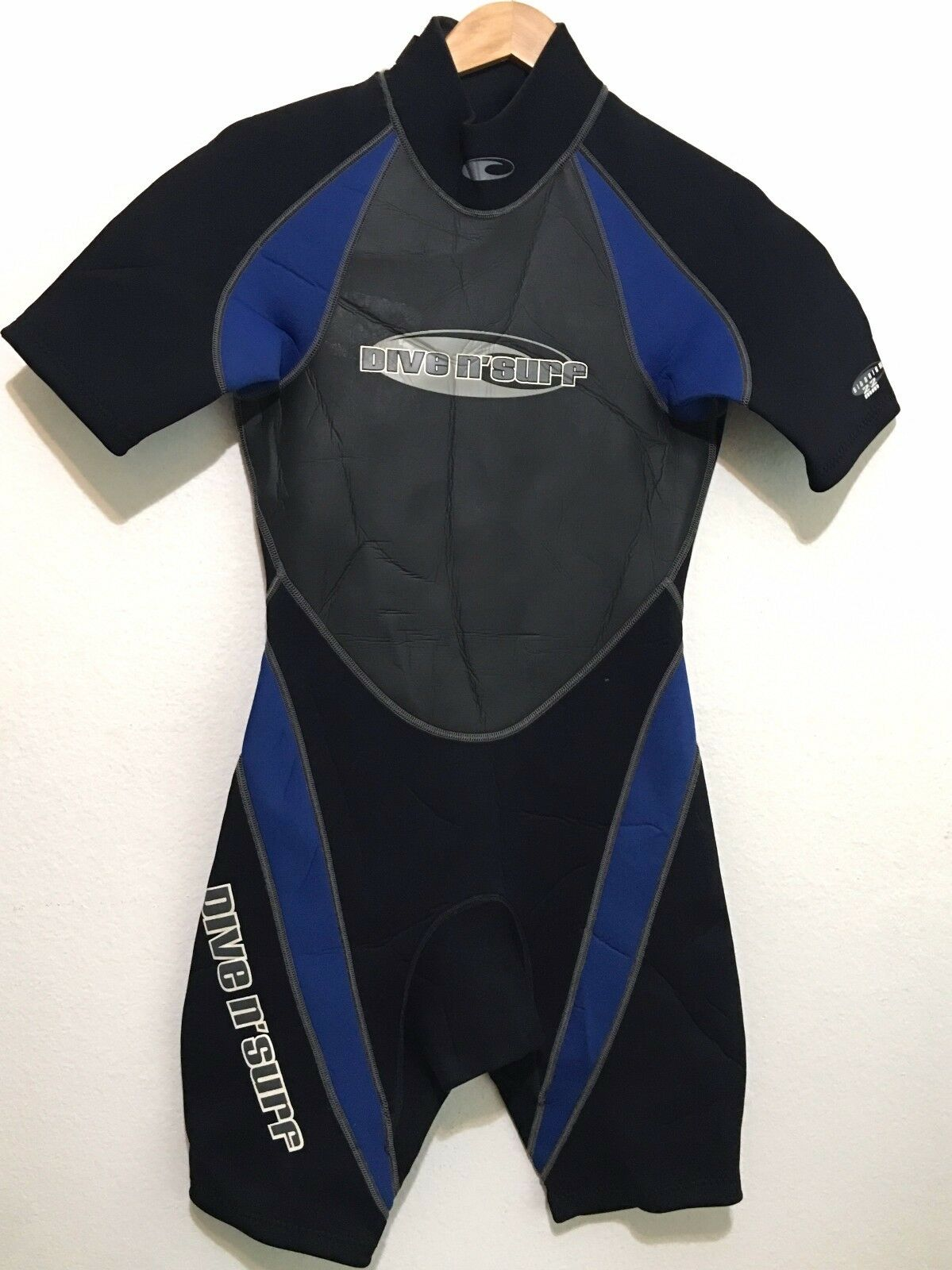 Dive N Surf Mens Spring Shorty  Wetsuit 2 2 Size Medium M  up to 50% off