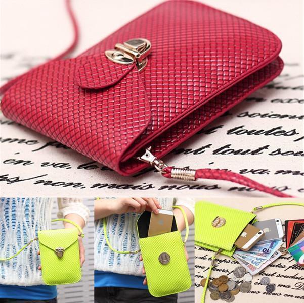 HOT Candy Color Mini Bag Messenger Shoulder Coin Case Satchel Crossbody Purse GC