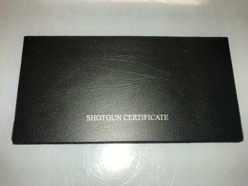 ARMI DA FUOCO certificato o di Licenza Holder//Portafoglio-SGC//FAC Un doppio NERA