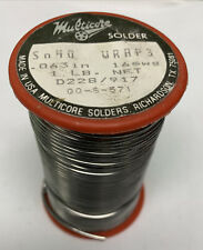 Solder Sn40 Rosin Core Dia063 1lbspool