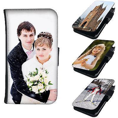 Book Tasche mit eigenem Foto für Smartphone Flip Case Schutzhülle Cover Motiv