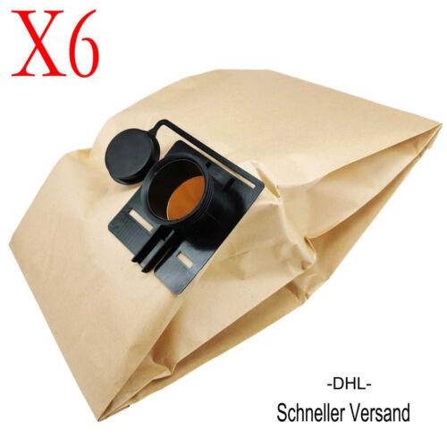 6 x Staubsaugerbeutel Staubbeutel Für Festool CTL-5,CTM-20,CTM-22,CTM-5,CTL-22