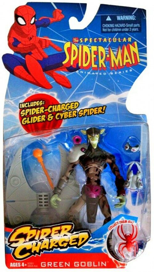 The Spectacular Spider-Man Spider-Charged Green Goblin Action Figure