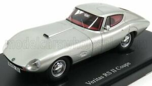 AUTOCULT 1/43 VERITAS   RS-II COUPE GERMANY 1964   SILVER