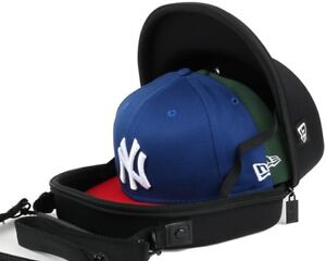38757d2901 New Era 2 Cap Carrier Hat Storage System Transport Protect Carry ...
