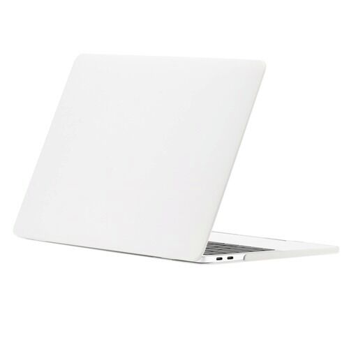 2in1 White Matte Hard Case+Keyboard Skin for Macbook Pro 13 WITHOUT Touch Bar