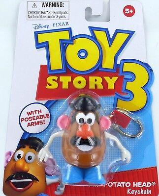 Toy Story Fisher Price Mr Potato Head Keychain Keyring Potatohead Disney T3 New Ebay