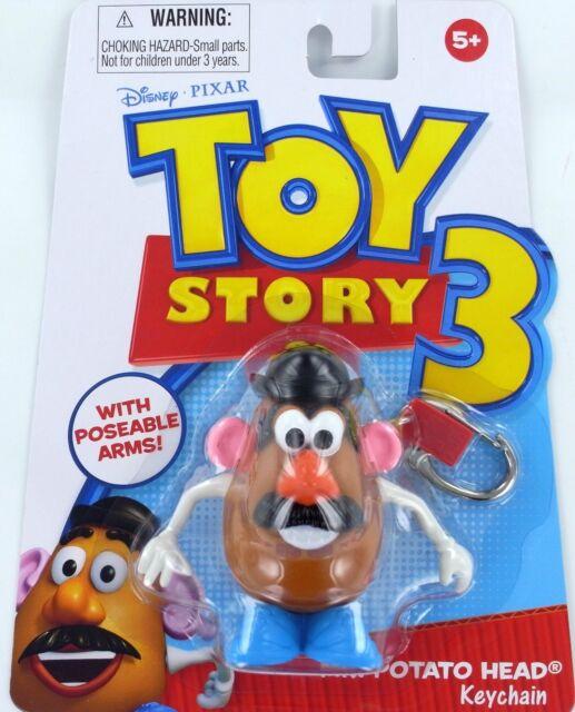 basic fun toy story 3 mr potato head keychain ebay