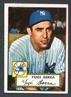 Yogi Berra 1952 Topps Baseball #191 Fair New York Yankees