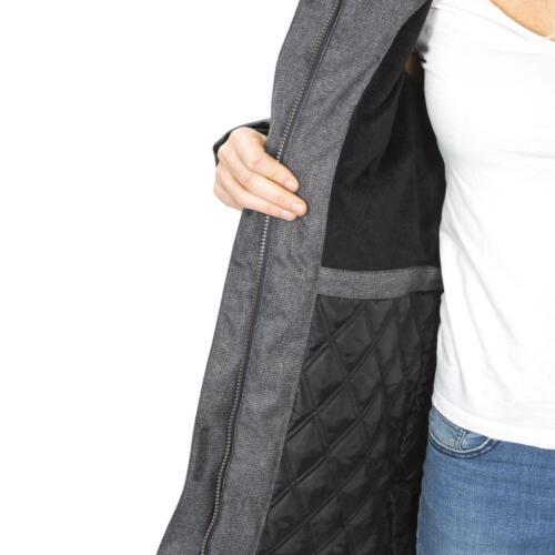 Womens Trespass Thundery Waterproof Parka JacketLong Hooded Coat