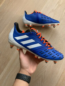 Adidas Predator Malice contrôle SG UK 8 Rugby Bottes RRP £ 179