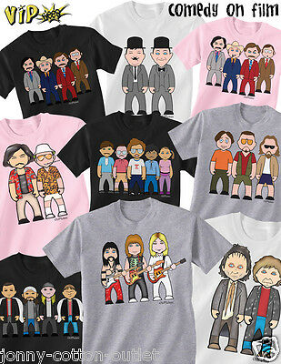 Kids VIPwees T-Shirt Impeccably Nerdy Comedy Boys Girls Movie Caricature Tee Top