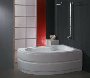 Vasche vasca da bagno in abs rinforzato seduta in abs 160x90 arredo bagno ita ebay - Vasche da bagno in vetroresina ...