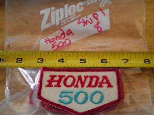 New Riding Jacket Patch Honda 500 500cc