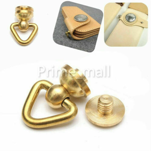 Solid Brass Joint Buckle Connector For Wallet Chain Rope Key Safety Hardware