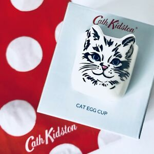 Genuine cath kidston cat egg cup easter gift new in box gift bag image is loading genuine cath kidston cat egg cup easter gift negle Gallery