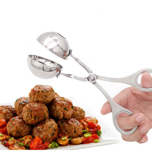 Stainless Steel Meatball Scoop Meat Baller Dough Tongs Ball Maker kitchen Tools