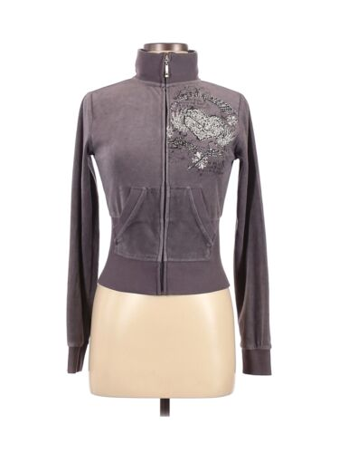 From Los Angeles by Bus Stop Women Gray Jacket M