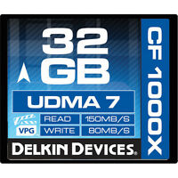 Dk Pro 32g Cf 1000x Udma 7 Compact Flash Card For Canon Eos C500 C300 1d C