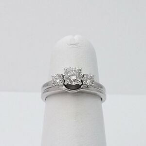 LSC Leo Diamond 76ctw Round Solitaire Engagement Wedding Band