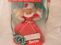 1994 Happy Holidays Gala Barbie In Red Dress Special Edition -