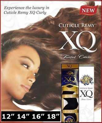 XQ CUTICLE REMY YAKY 100% HUMAN HAIR WEAVE_Sensuous_Wave
