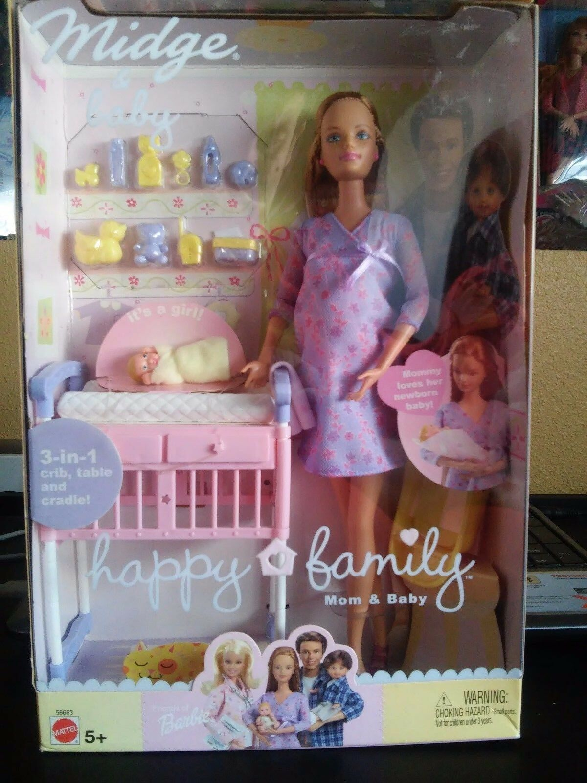 Barbie   midge&bambino happy family  centro commerciale di moda