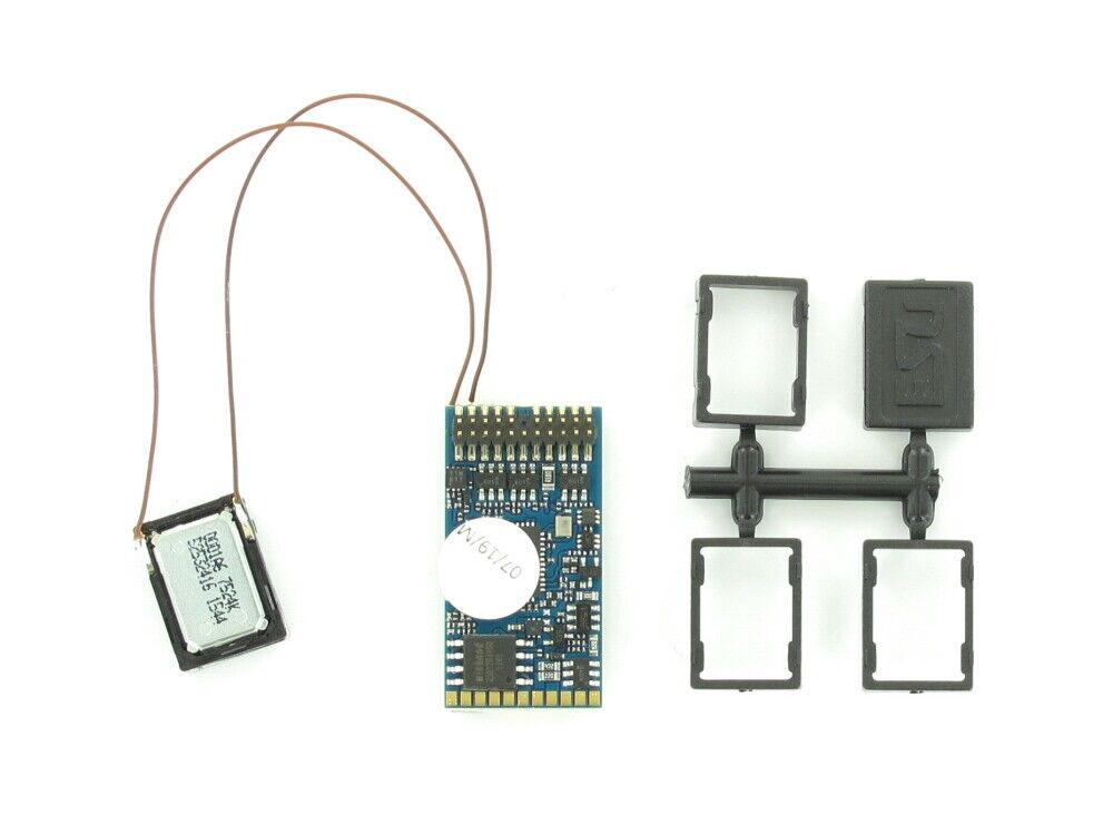 Envíos y devoluciones gratis. Esu 58412 descodificador Loksound 5 en blancoo decodificador plux22 con con con altavoz 11x15m  salida