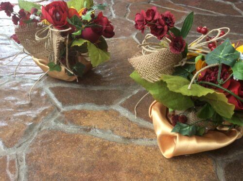Wedding flowers bridal bouquet sunflowers bridal decorations burgundy red huge