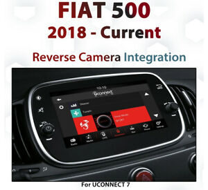 FIAT-500-2018-Current-Reverse-Camera-Integration-for-UConnect-7