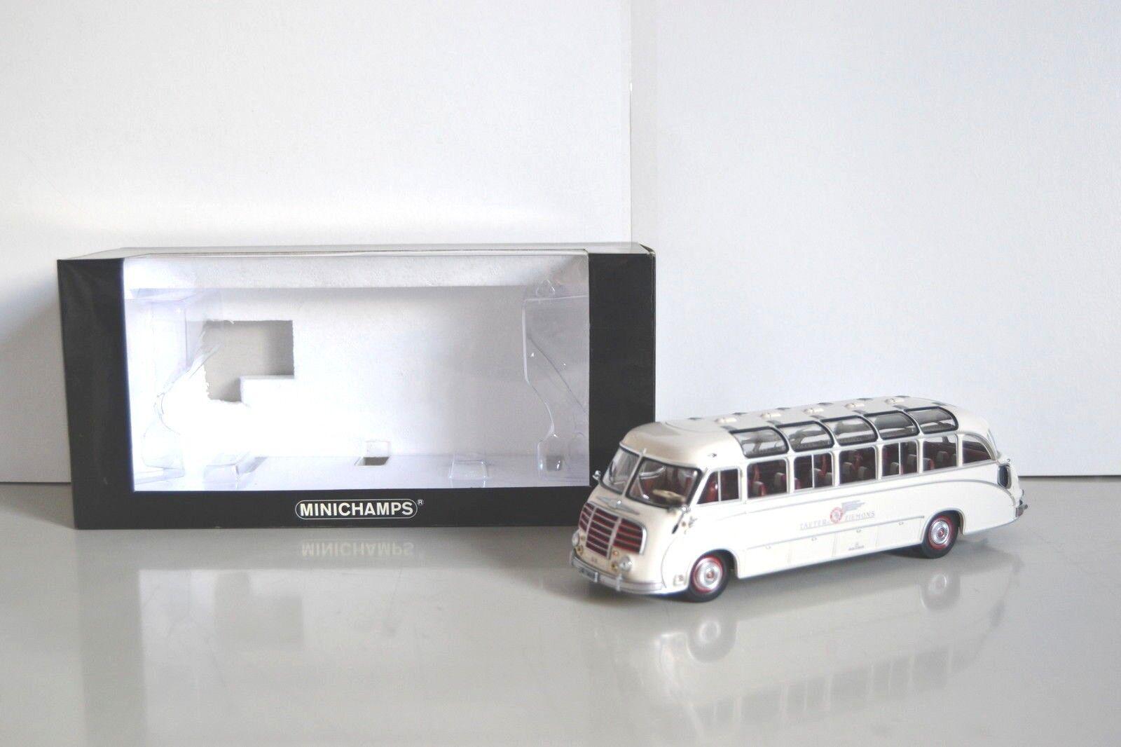 Minichamps 1 1 1 43 Setra S8 1953 autocar Taeter Ziemons Réf. 439 030086 SL 1008 p. 5aadfb