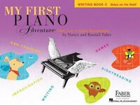 My First Piano Adventure, Writing Book C (piano Adventure`s) By , (paperback), F