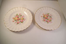 Vintage Edwin Knowles Semi Vitreous China Bread Plate & Saucer Roses