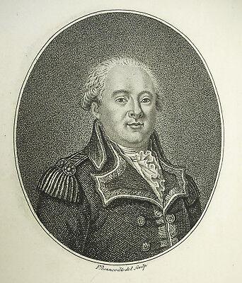 Général Jacques De Menou De Boussayarmée Campagne D'egypte F Bonneville 1796
