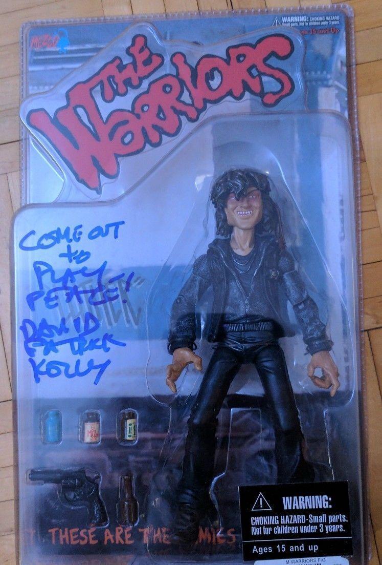 De Warriors Movie effect Figure MEZCO Rogues Luther tekende David Patrick Kelly