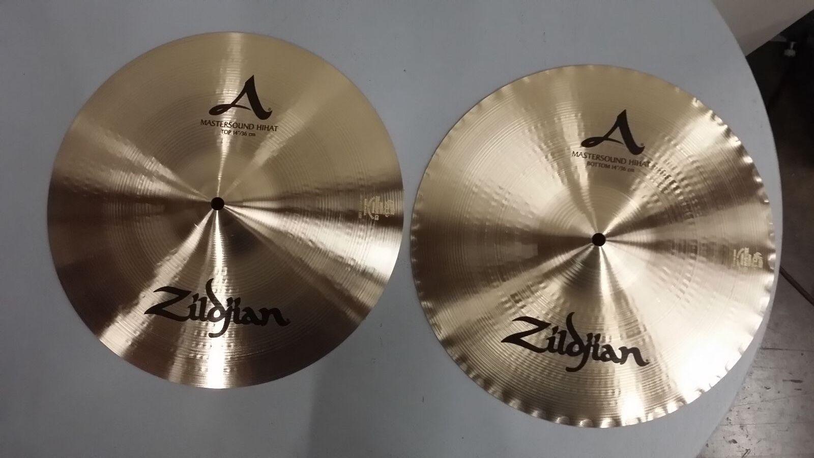 """Zildjian 14"""" A Mastersound Hats A0123  MINT Condition"""