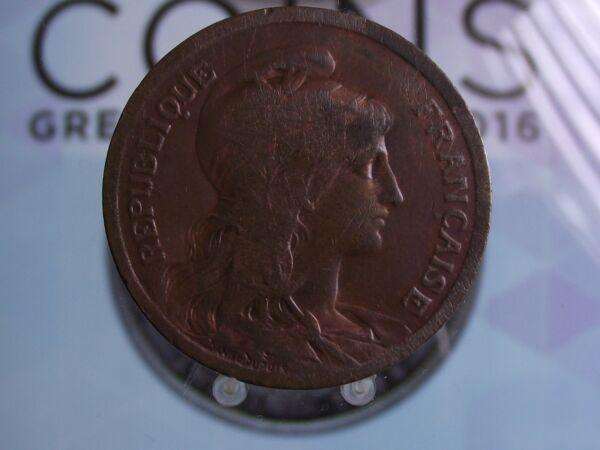 0012 10 C France 10 Centimes 1917