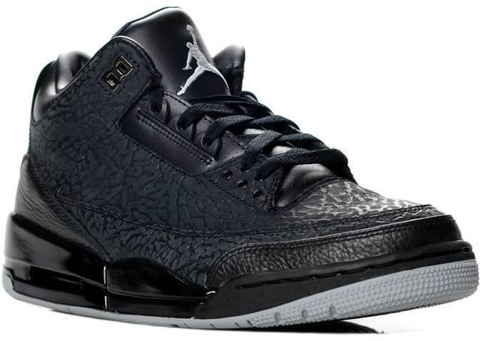 2018 Nike Air Jordan 3 III Retro Black Flip Comfortable The most popular shoes for men and women