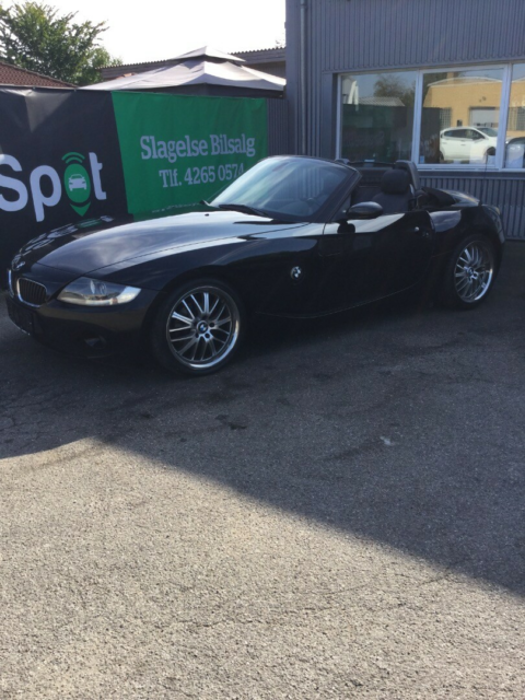 BMW Z4 2,2 iS Roadster Steptr. Benzin aut. Automatgear…