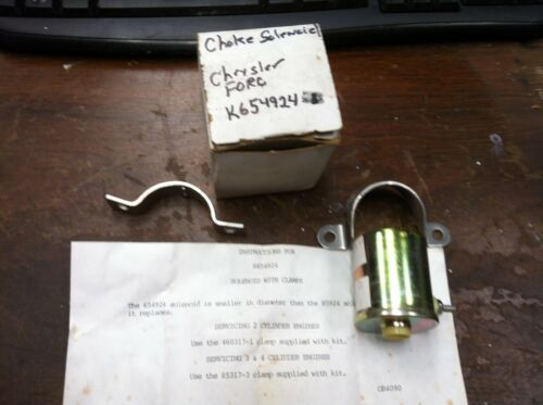 NEW OEM MERCURY FORCE CHRYSLER CHOKE SOLENOID K654924