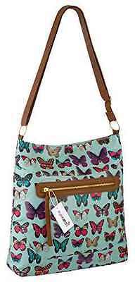 Damen Leinwand Mehrere Farbe Boten Schulter Frauen Handtasche Riemen Tasche