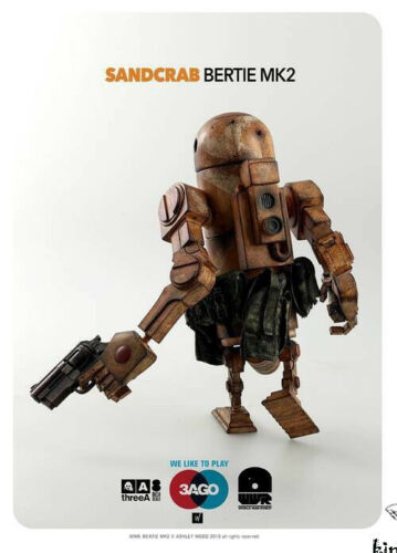 ThreeA 3AGO Sandcrab Bertie World War Robot WWR World of BERTIE MK2