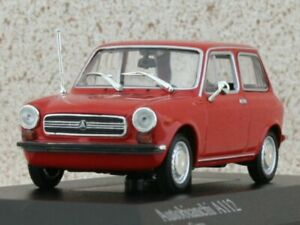 AUTOBIANCHI A112 - 1974 - red - Minichamps 1:43
