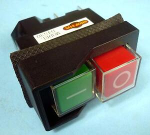 Shop fox safety onoff magnetic switch 110 volt 16 amp 12 hp 1 x image is loading shop fox safety on off magnetic switch 110 publicscrutiny Choice Image