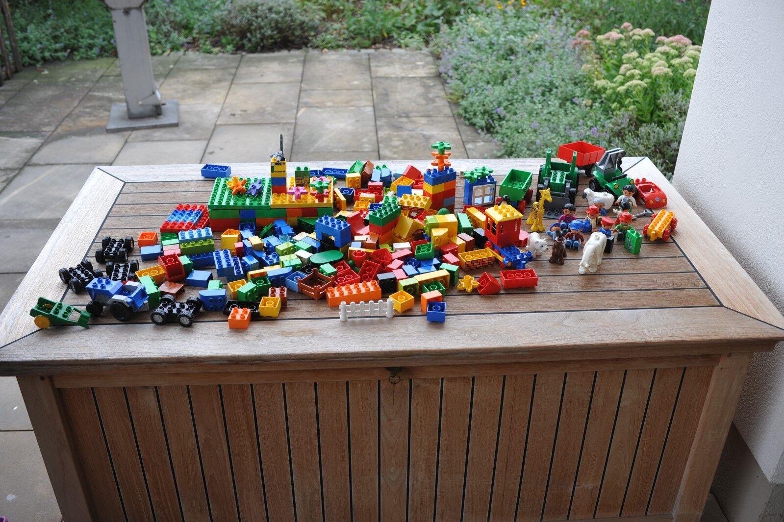 LEGO DUPLO 3,2KG BAUSTEINE DUPLOSTEINE MÄNNCHEN AUTO TIERE FAHRZEUGE - TOP TOP