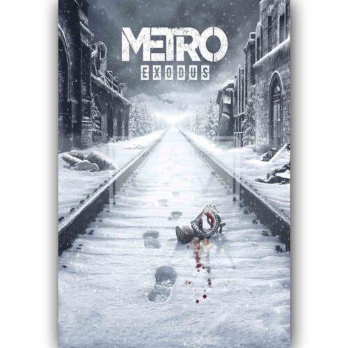 Custom Silk Poster Metro Exodus Wall Decor