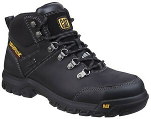 Caterpillar Mens Framework Boot ST S3 WR HRO SRA Black
