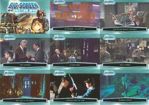 Dr-Doctor-Who-Big-Screen-Base-Card-Set-Full-100-Card-Base-Set-Daleks-New